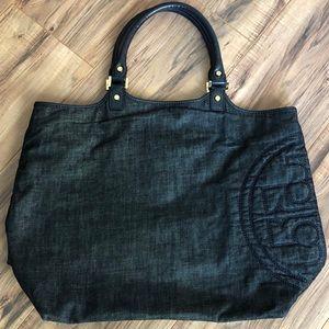 2a9957052fe Tory Burch Bags - Tory Burch Delaney bucket denim tote bag purse